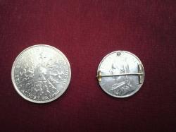 Elizabeth II coin & victoria 1887th century