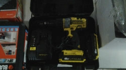 A BRAND-NEW STANLEY FACT MAX DRILL THE BESTSELLING HAMMER DRILL IN THE UK. SUPER HIGH QUALITY WITH TWO BATTERIES AND BUILT-IN LIGHT INCLUDES CHARGER AND CASE IMPORTED FROM THE UK