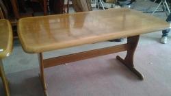 Wooden table (W145cm X L85cm X H76cm)