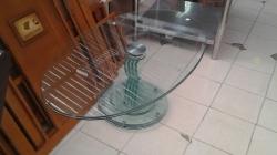 living room table glass