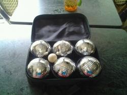 French petanque balls