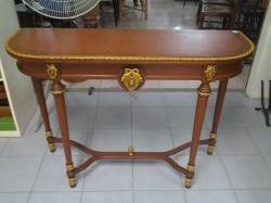 Antique wooden console table 40*120*85cm