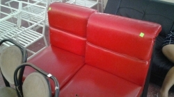 Pair of red seats