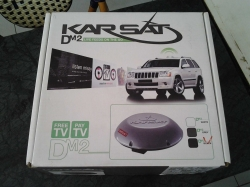 KARSAT tv monitor receiver DMZ live feed, anywhere for car or boat