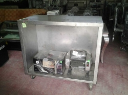 Stainless counter bar