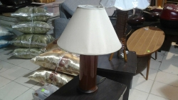 Wooden stand lamp