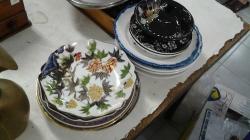 Job lot of plates
