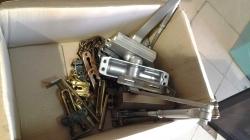 Assorted door closures and chain locks