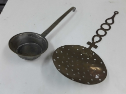 2 Old Brass items