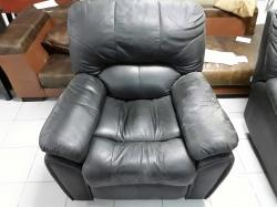 Reclining chair dark brown colour