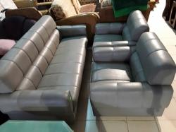 Grey 3 piece sofa set