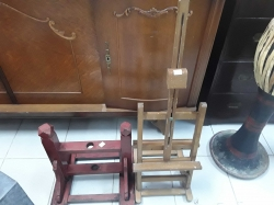 An Old wooden stand 2 pieces