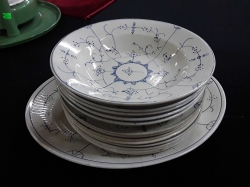 A selection of old dining plates