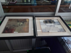 2 pictures with nice frame