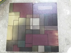 4 Pieced painting