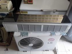 LG Air con 18000 BTU with remote in office