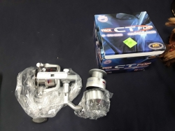 lineaeffe VIGOR CT600 3BB reel alloy spool+2spare spools 1216 line
