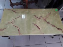 Fiber glass table (marble design)