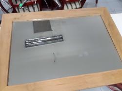 Solid teak framed Mirror