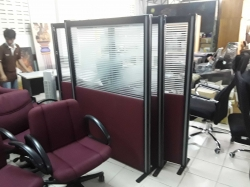 4 pcs Office room partitions