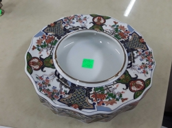 Chinese ceramic ashtray