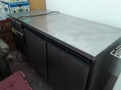 Stainless 2 door freezer