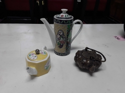 3 pices Tea pot