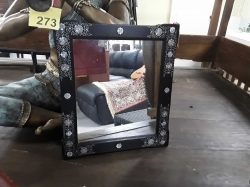 Very nice mirror with mother of pear inlaid