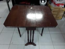 Small mahogany sutherland tablec,1880 72x61x60cm
