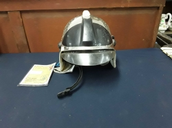 Original Fireman helmet of the soviet union