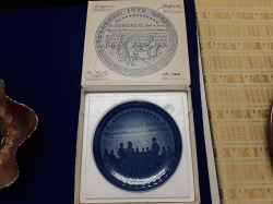 American independance plate