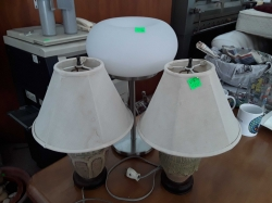 3x table lamps