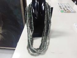 6x jade necklaces