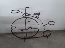 Bicycle pan stand