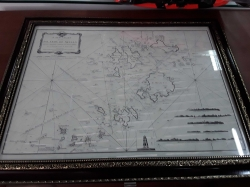 Islands of Scilly with Frame
