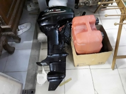 Boat engine with accessories 15 HB