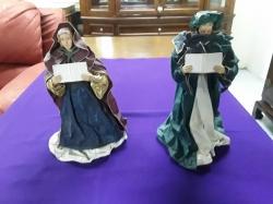 Antique Church doll set