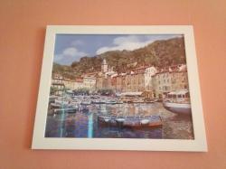 Art print of port