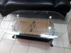 Quality tempered glass table