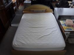 Queen bedside with mattress