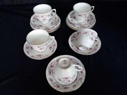 5 set of Royal Osborne coffee set