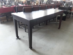 Wooden table 70x160x75cm