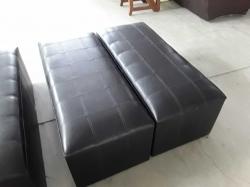 Pair of black stools
