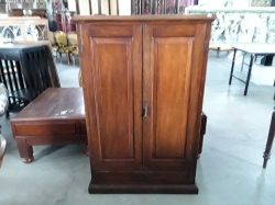 Cupboard, wood Thailand 19th cent. 81x3cm, H:125cm