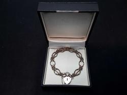Vintage 9ct Gold Gate Bracelet
