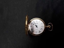 Gold Plate Pocket Watch Working Order