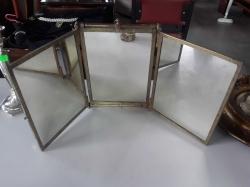 Brass Antique mirror