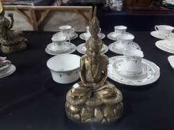 Bronze Thai figure of Hermit