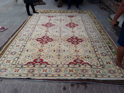 New Persian wool on cotton Floral  Design from Afghanistan  218x310cm