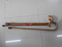 3x walking sticks
